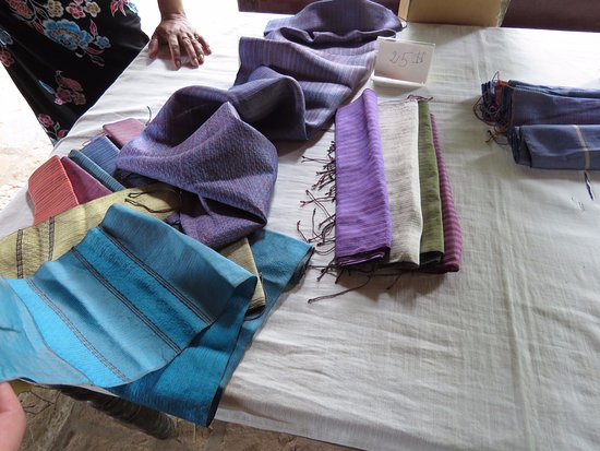 Kampong Thom, Cambodia: Some of the scarves