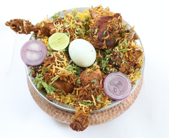 03d8e9d44402 The Diner: family pack Hyderabadi Chicken Biryani at the Whitefield Diner