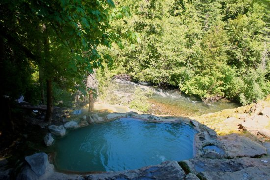Umpqua Hot Springs: The natural hot springs - nestled into the Umpqua National Forest in Oregon's Cascade Mountains