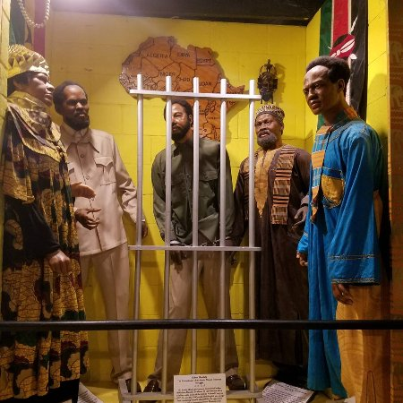 black wax museum The national great blacks in wax museum fills a full city block with wax incarnations of influential african americans who lived from early black entrepreneurship.