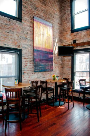 Upstairs Bar Dining Area The Fireplace Room Photography By Amy