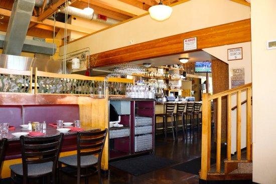 Interior picture of big river restaurant corvallis
