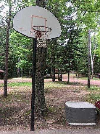 Lac du Flambeau, วิสคอนซิน: Basketball court