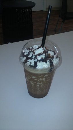 Flagler Beach, FL: Mocha Frozen Coffee