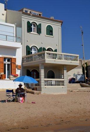 La terrazza sulla spiaggia