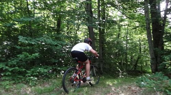 North River, NY: Rent mountain bikes and set out on our trail network.