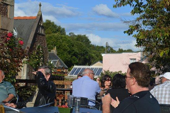 Callander, UK: Beer garden