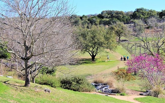 Marble Falls, Teksas: Spring Time at The Disc Golf Course
