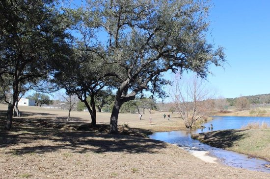 Marble Falls, TX: Cool Day for Disc Golf