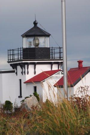 Hansville, Вашингтон: The Lighthouse.