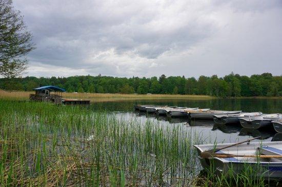 Uppsala, Zweden: Ruderbootverleih