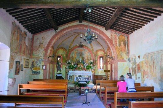 Manerba del Garda, إيطاليا: Fresken