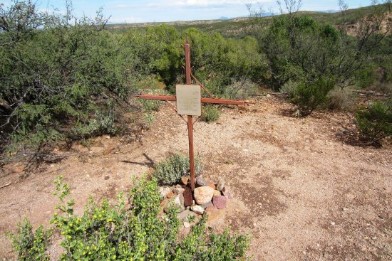 Sierra Vista, AZ: Memorial to slain Spanish soldiers