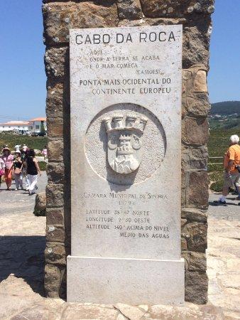 Colares, Portugal: Cabo da Roca - Marco
