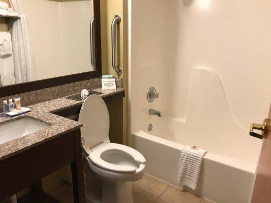 Oak Hill, Virginie-Occidentale : Bathroom - Room 317.