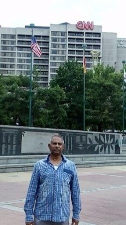 Centennial Olympic Park: At the park near Musical fountain
