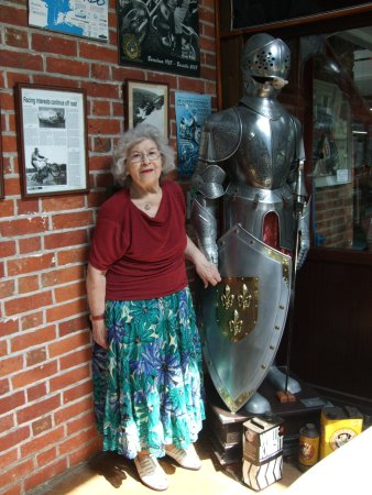 Sammy Miller Motorcycle Museum: At last, my Knight in Shining Armour!