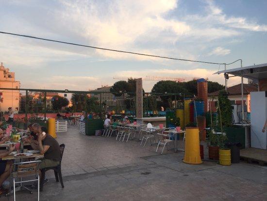 Terrazza su roma - Foto di Pizzeria Frontoni L\'Arte della Pizza dal ...
