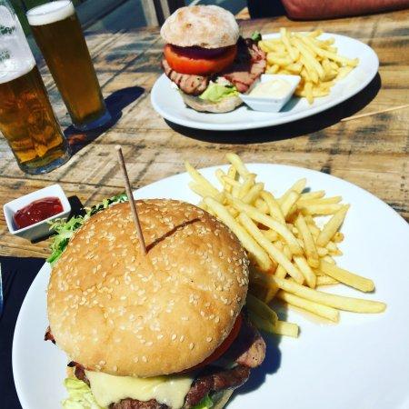 Llanaber, UK: Beautiful Burgers