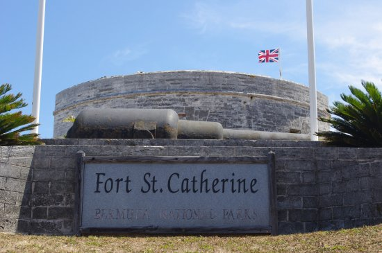 St. George, Bermuda: Fort St. Catherine entrance