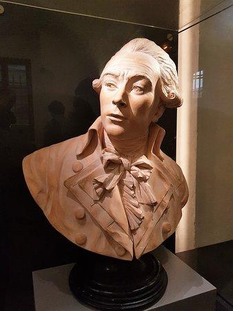Conciergerie : Buste de Robespierre