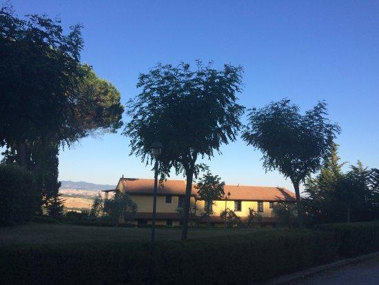 Montaione, Italia: Panorama alle 7 di mattina