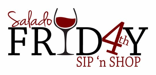 Downtown Salado stays open until 9:00 PM on 4th Fridays from Apr to Oct.  FB @Salado4thFriday