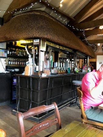 Colyford, UK: bar