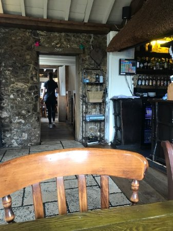The Wheelwright Inn: restaurant entrance