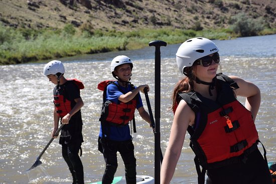 Hotchkiss, CO: Learning to SUP on the Gunnison.