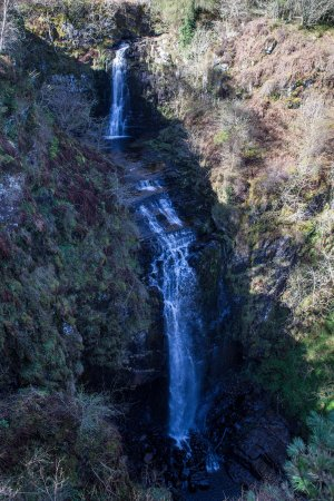 Whiting Bay, UK: Glenashdale falls