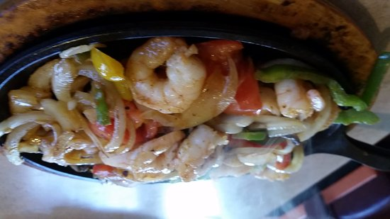 Franklin, Огайо: Shrimp fajitas