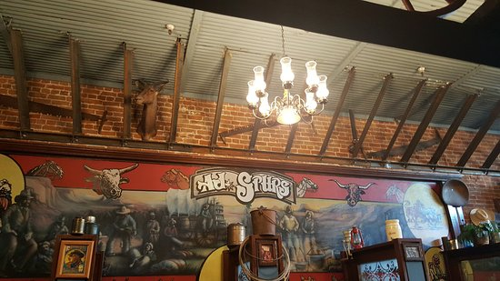 A J Spurs Saloon & Dining Hall: Inside AJ Spurs
