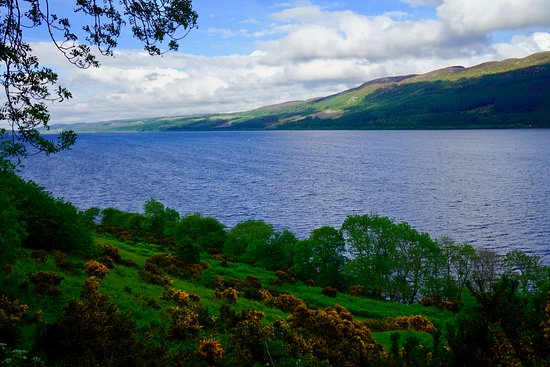 Perth, UK: Loch Ness, view from near Urquhart Castle