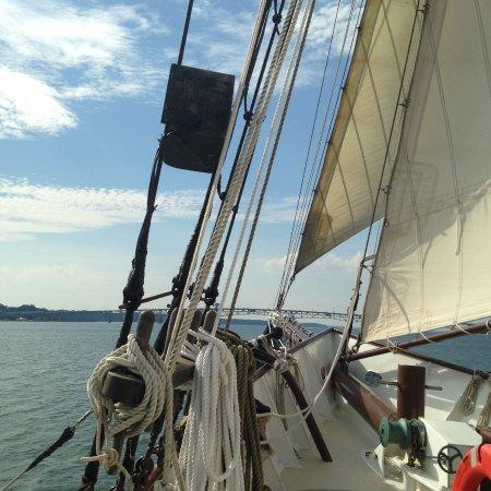 Yorktown, VA: Aboard the Alliance