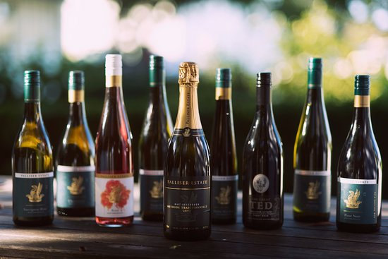 Martinborough, New Zealand: Our current Estate wine lineup