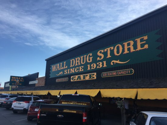 Wall, SD: Front of store