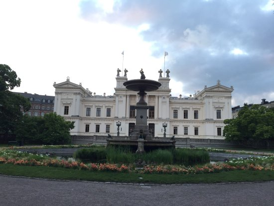 Lund University, never missing to visit there if you are visiting to Lund Good to hang around wi