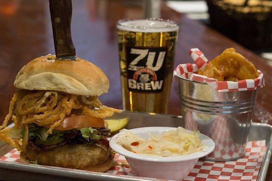 Edmond, OK: Bob's Beer Battered Bacon Burger