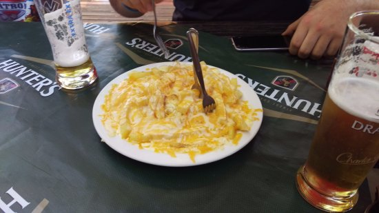 Louis Trichardt, South Africa: Chips, Cheese and Mayo...heart attack optional
