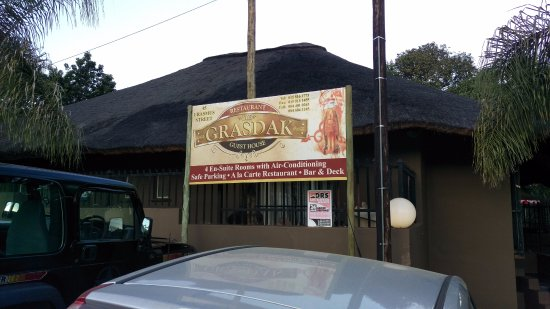 Louis Trichardt, South Africa: Welcome sign