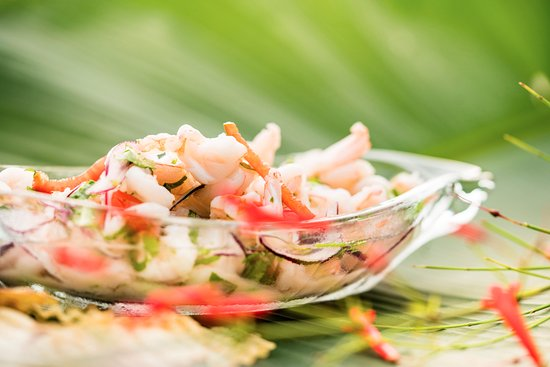 Playa San Miguel, Costa Rica: Our beachfront Cevicheria is #1 in Lonely Planet! Check out LocosCocos!