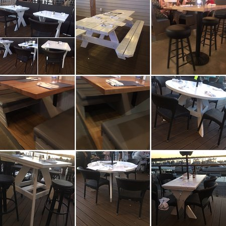 Belmar, NJ: empty tables for an hour and a half on a two our wait.