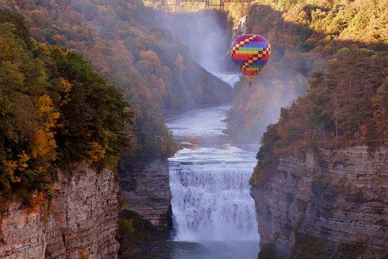 Genesee Falls Balloon