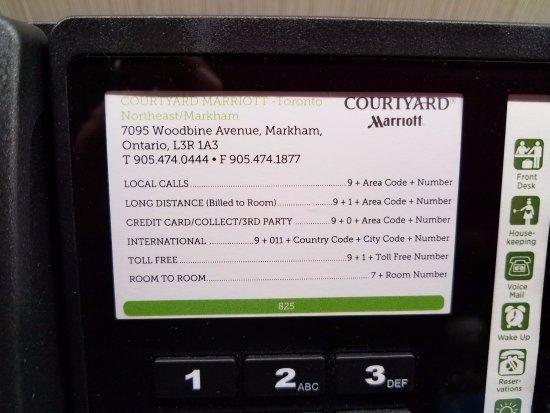 Маркхам, Канада: Hotel Address and Phone Numbers