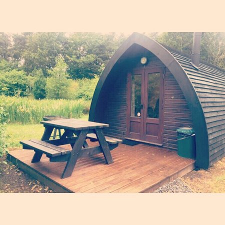 North Yorkshire, UK: Glamping Pods