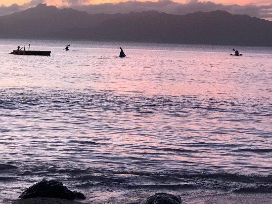 Daku Resort - Restaurant : Outside your door. Take a sunset kayak and swim.