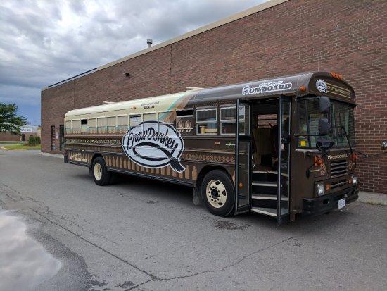 أوتاوا, كندا: The bus!
