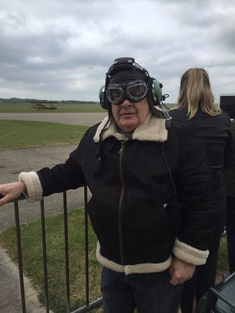 Duxford, UK: are you ready Biggles
