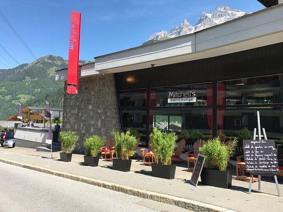 Le mitchell 39 s champ ry restaurant avis num ro de for Champery restaurant